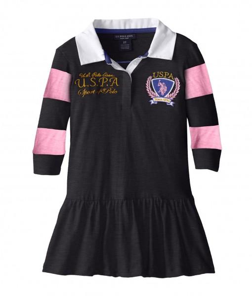 Black Polo Toddler Dress