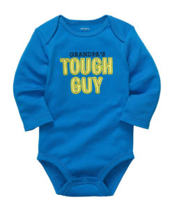 Blue Baby Bodysuit