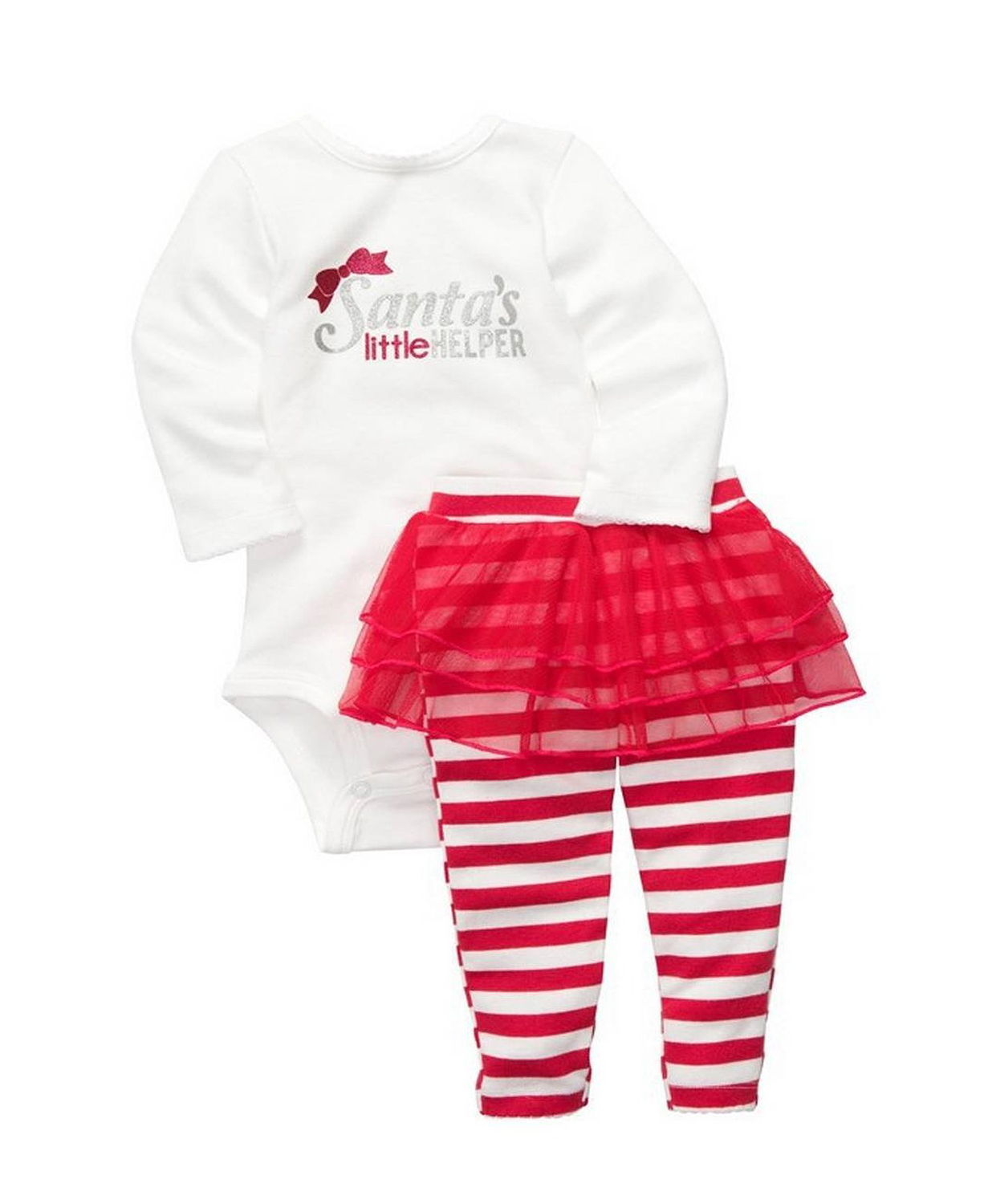 Limited Carters Baby Girls Christmas Piece Tutu
