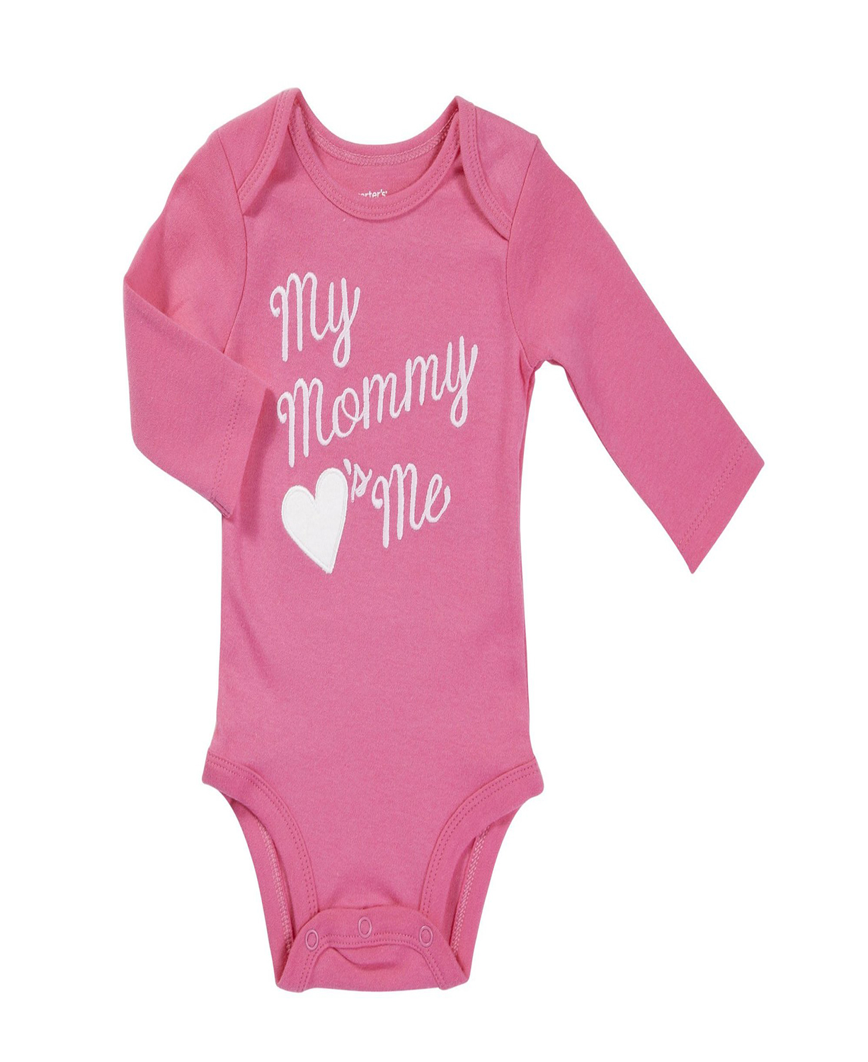 Pink Carters My Mommy Loves Me Baby Bodysuits Baby Clothes Baby