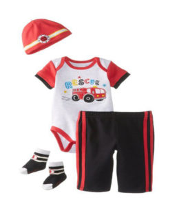 Vitamins baby clothes set