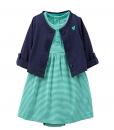 Carter's Baby Girl Bodysuit 2 pc Cardigan Dress Set