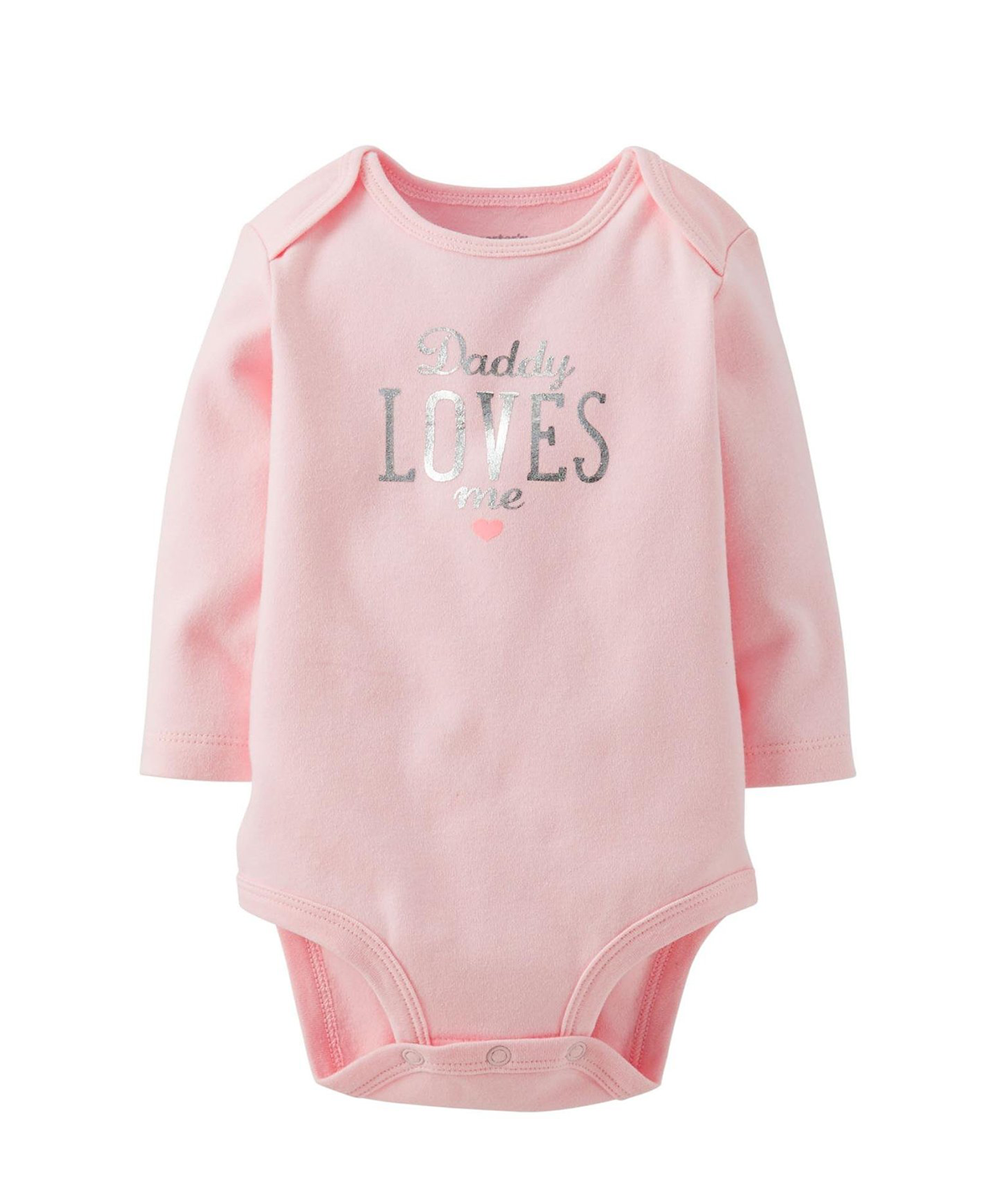 Carter Baby Girls Bodysuit Daddy Loves