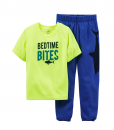 Carter's Little Boys' 2 Piece Pant PJ Set (Toddler/Kid) - Space Stylish Baby Clothes