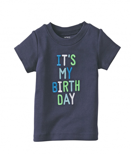 Cute Carter's Baby Boys' Birthday T