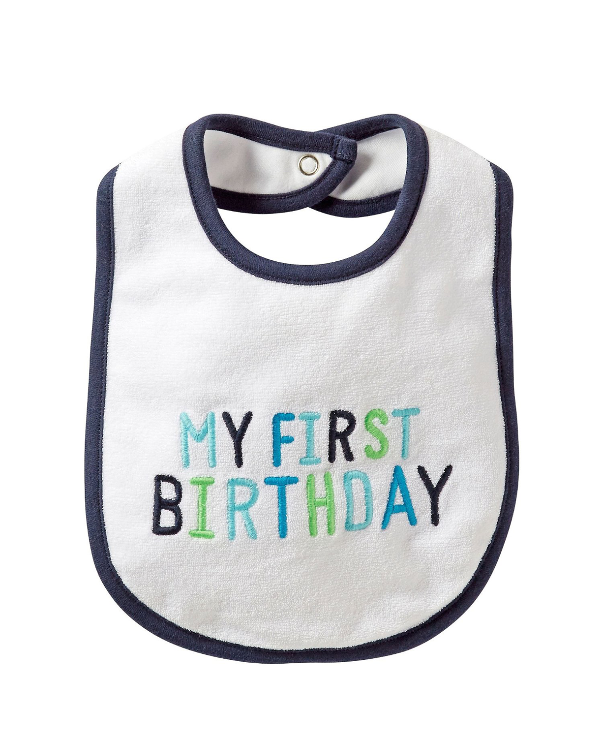 Cute Carter's 'My 1st Birthday' Baby Bibs (Baby) One Size