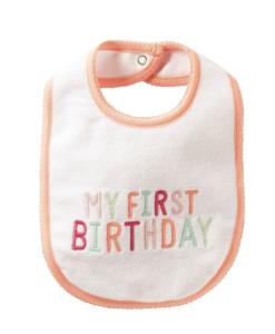Cute Carter's Baby Girls Bib' 'My 1st Birthday'(Baby)