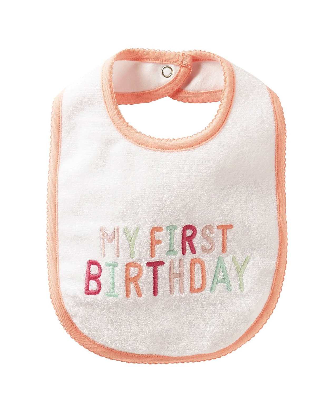 Cute Carter's Baby Girls Bib' 'My 1st Birthday'(Baby