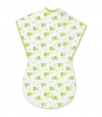 Soft Summer Infant ComfortMe Wearable Baby Blanket [Frog Friends]