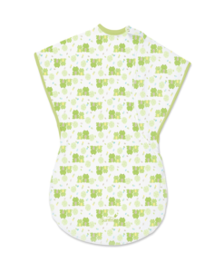 Soft Summer Infant ComfortMe Wearable Baby Blanket [Frog Friends]