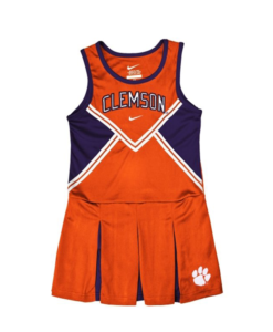 Nike Toddler College Clemson Cheer Leader Toddle Girl Dress and Panty Set
