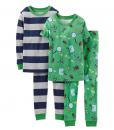 Carter's Big Toddler Pajamas Boys' 4 Piece PJ Set