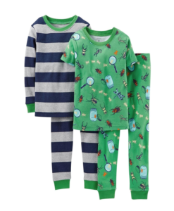 Carter's Big Toddler Pajamas Boys' 4 Piece PJ Set