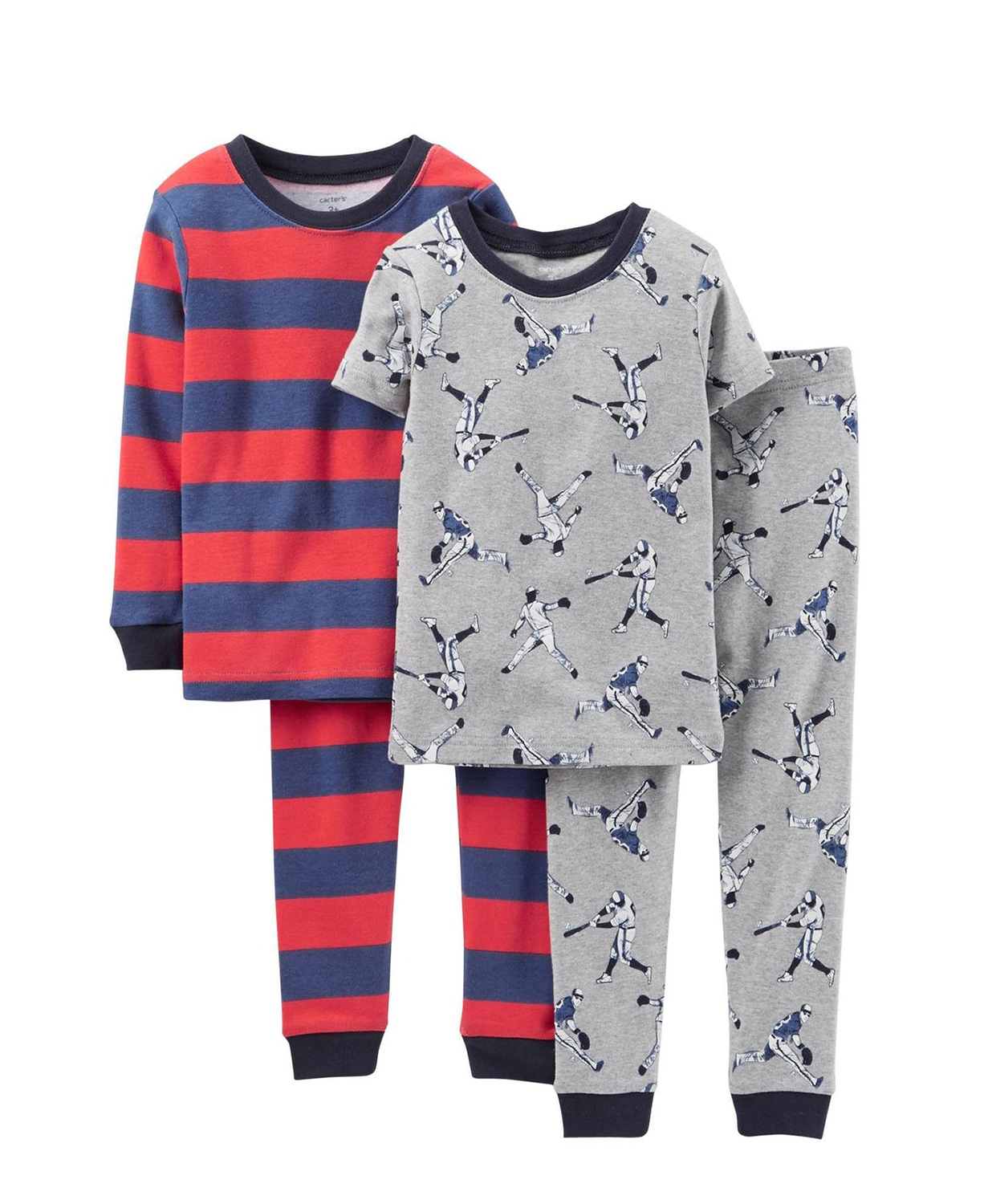 Comfortable Carter's Little Boys' 4 Piece PJ Set (Toddler Pjs ...