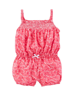 Cute Cherry Carter's Baby Girls 1-piece Cotton Baby Romper