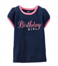 Super Cute Carter's Baby Girls' Birthday Tee (Baby) - Birthday Girl Shirt