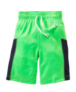 Carter's Baby Boys Mesh Knit Shorts 4T Green Toddler Shorts