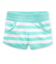 Carter's Little Girls' Striped Pull-on Shorts - Baby Girl Shorts
