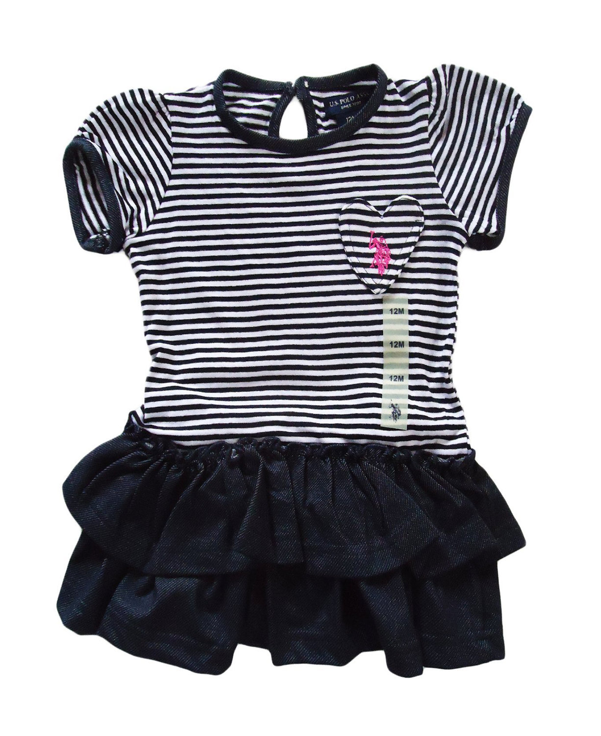 700243f53f US Polo ASSN Kids Cutest Ever Baby Girl Dress - Baby Clothes, Baby ...