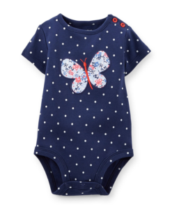 Carters Baby Bodysuit with Buterfly - Cute Baby BodySuit
