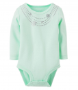 Carter's Baby Girls' (Baby) - Ivory Cute Baby Bodysuit
