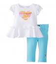 Cute Calvin Klein Baby Girls' Top with Pants Set