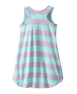 U.S. POLO ASSN. Little Girls' Striped Hi Lo Dress - Toddler Girl Dress