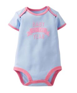 Cute Carters Baby Girls Baby Of The Year Bodysuit - Baby Girls Bodysuit