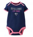 Cute Carter's Baby Girls' Slogan Bodysuit - Baby Girls Bodysuit