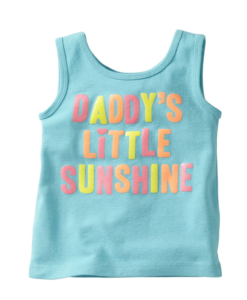 Cute Carter's Little Girls' Tank (Toddler) Daddys Girl Toddler Tank Tops
