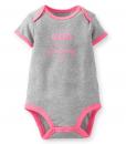 Cute Carter's Short-Sleeve Graphic Bodysuit - Baby Girls Bodysuit