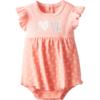 Stylish BON BEBE Baby-Girls Newborn Love Sleeveless Sundress Built-In Diaper Cover Beautiful Baby Dresses