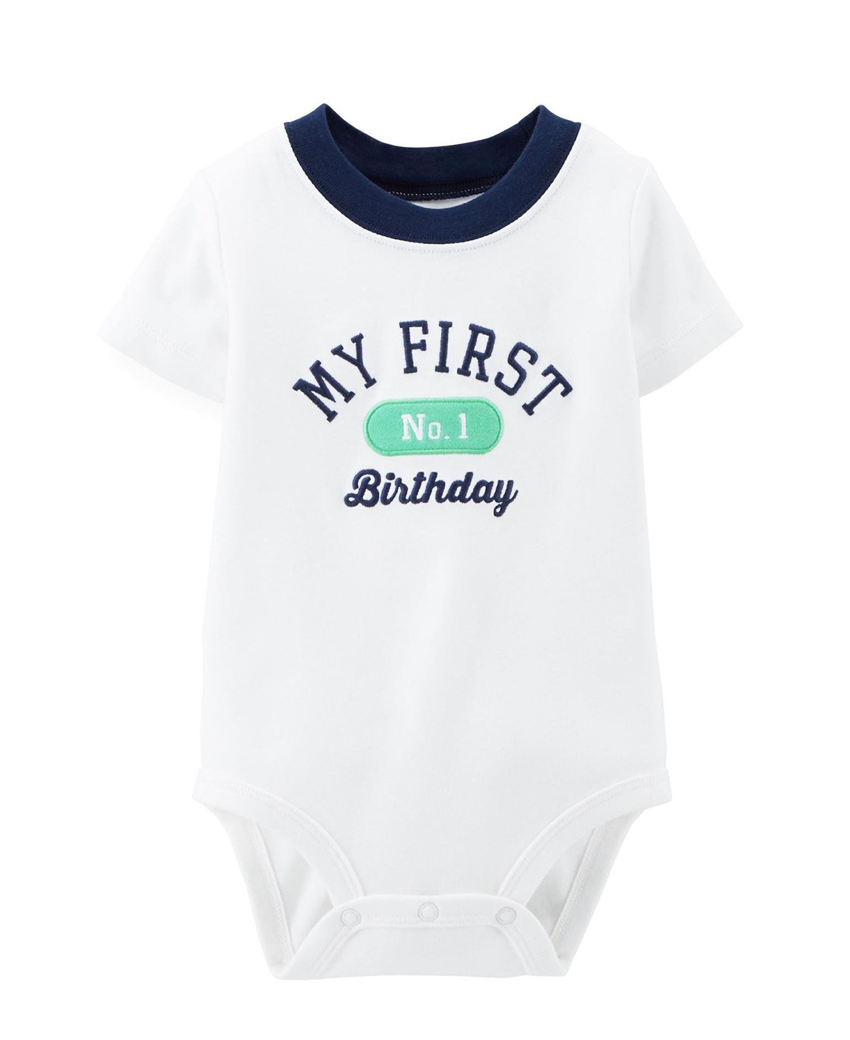 Cute Carters Baby Boys Birthday Bodysuit