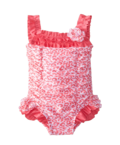New ABSORBA Baby Girls' Floral Swimsuit Toddler Swimsuit