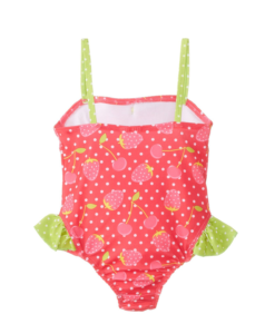 New Pink Platinum Baby Girls' Strawberry One Piece Swimsuit Toddler One Piece Swimsuit