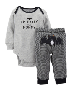 Cute Carter's Baby Boys' 2 Piece Halloween Set Baby Black Baby Halloween Outfits