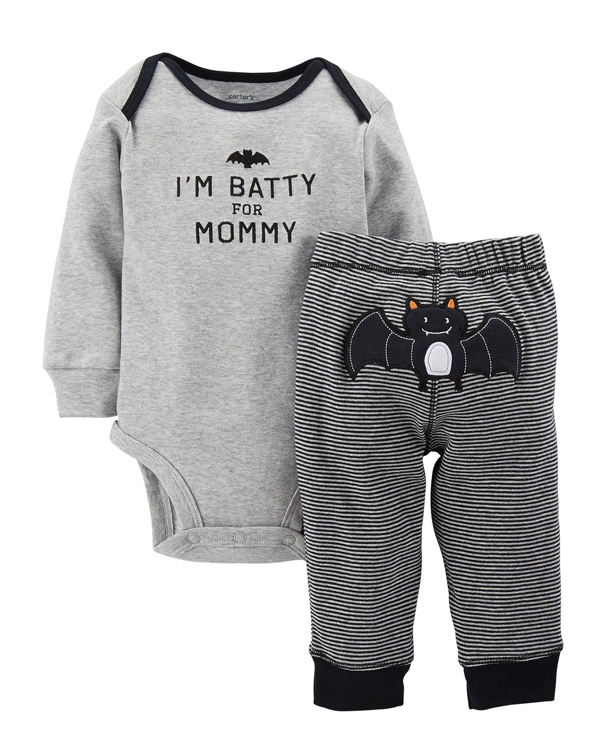 Cute Carter's Baby Boys' 2 Piece Halloween Set (Baby) – Black ...