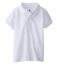 New U.S. Polo Association Little Boys' Short Sleeve Cotton Pique Toddler Polo