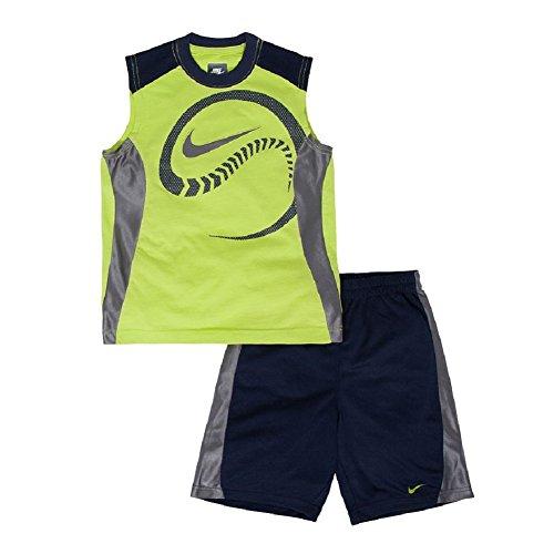 Nike Boy s Slide Baseball Muscle Tee   Shorts Set 60fac999d