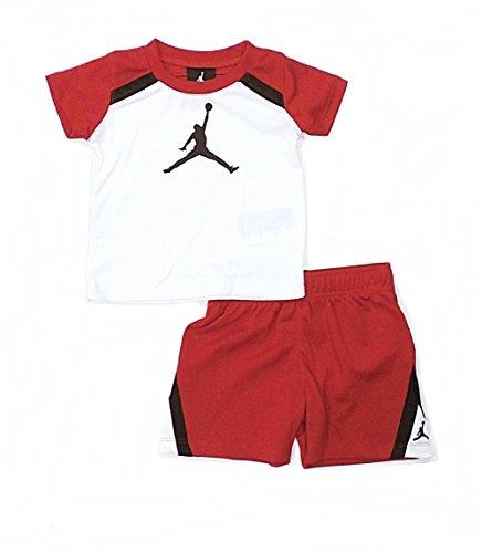 20aa50671fedd8 Nike Air Jordan Jumpman Shirt and Short Set (3 6 Months) - Baby ...
