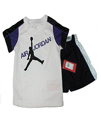 ca582758eb1d Nike Air Jordan Baby Purple Rain T-Shirt   Shorts Set (4T