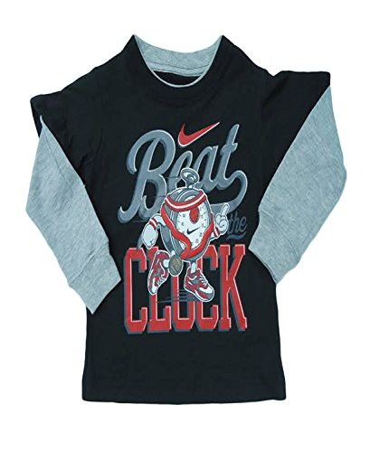 Nike Baby Boy Clothes Gorgeous Nike Toddler Boys Beat The Clock Jersey TShirt 60T Balck Baby