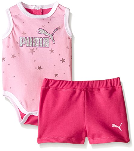 PUMA Girls Star Bodysuit and Short Set