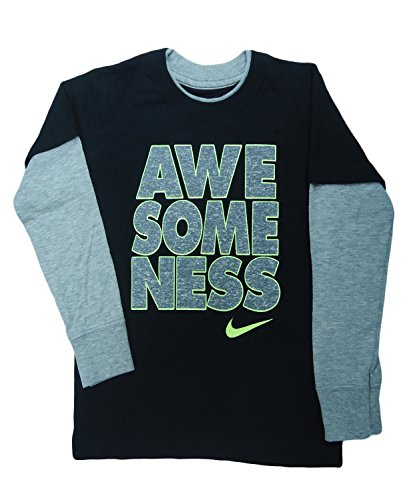 Nike Baby Boy Clothes Extraordinary Nike Toddler Boys Awesomeness Jersey TShirt Top 60T Black Baby