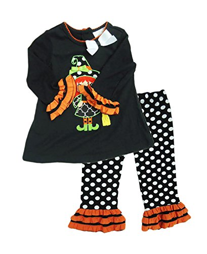 d5b077fb7 Rare Editions Baby Girl 2 Piece Set Halloween Oufit (12 Months ...