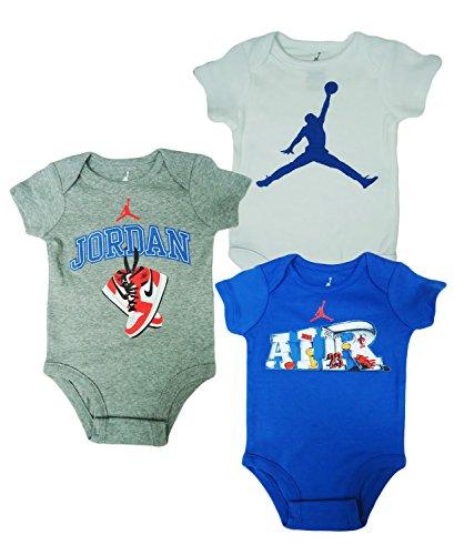 f26aa88aa279 Nike Jordan Infant New Born Baby Bodysuit Layette Sets (3-6 Months ...