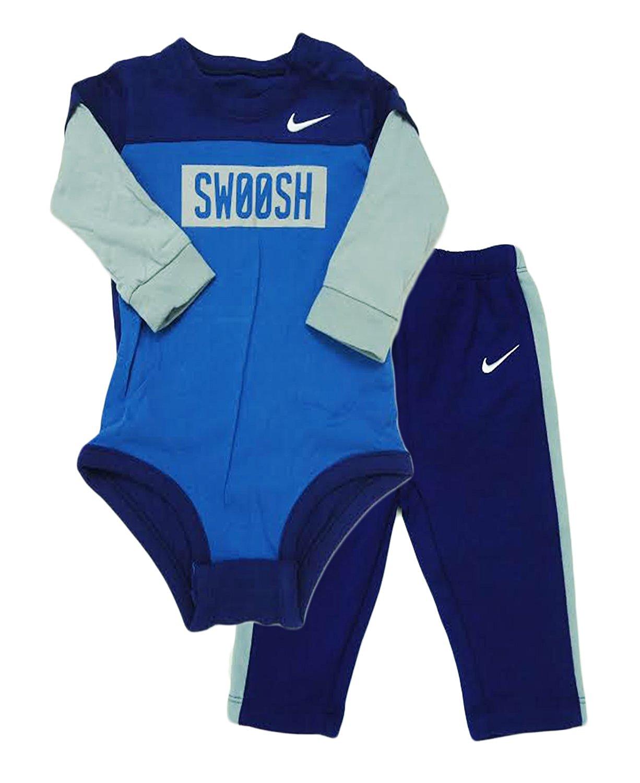 6c168d551f076 Nike Baby Boys  2-Piece Bodysuit   Pants Set (3 - 6 Months