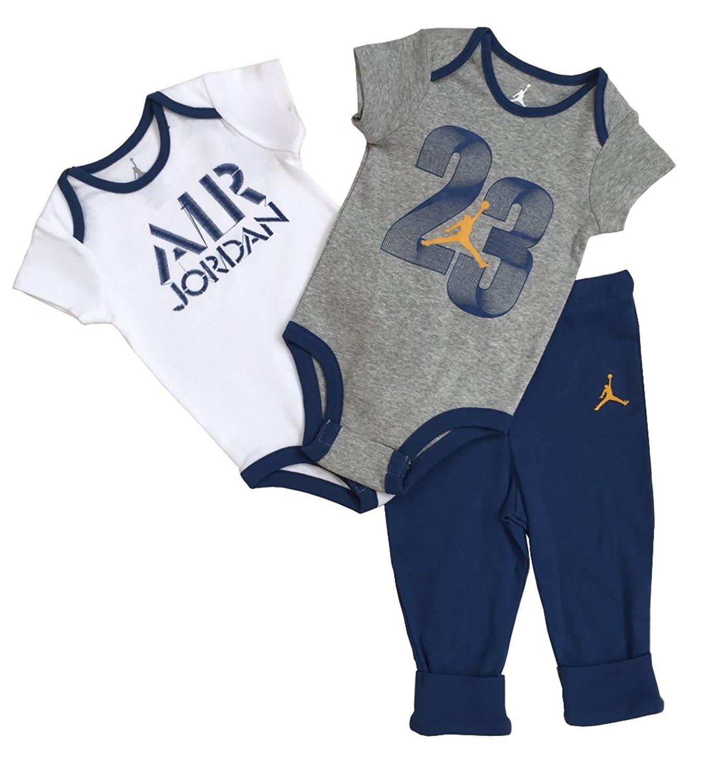 Nike Jordan Infant New Born Baby 3 Pcs
