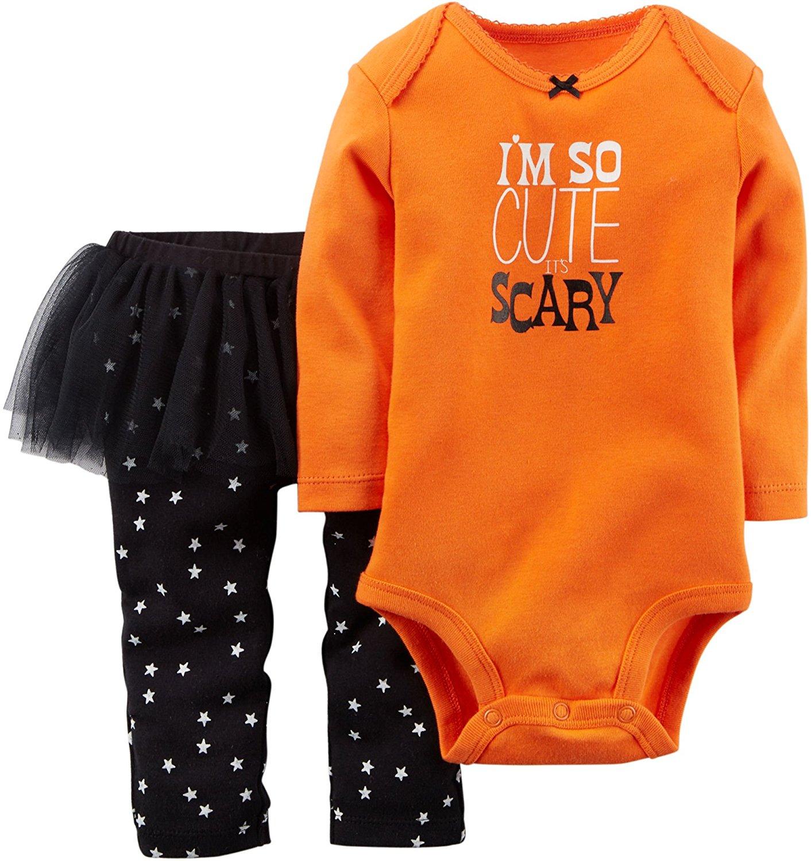 Carter s 2 Pc Halloween Tutu Set 6 Months Daddy s Under My Spell