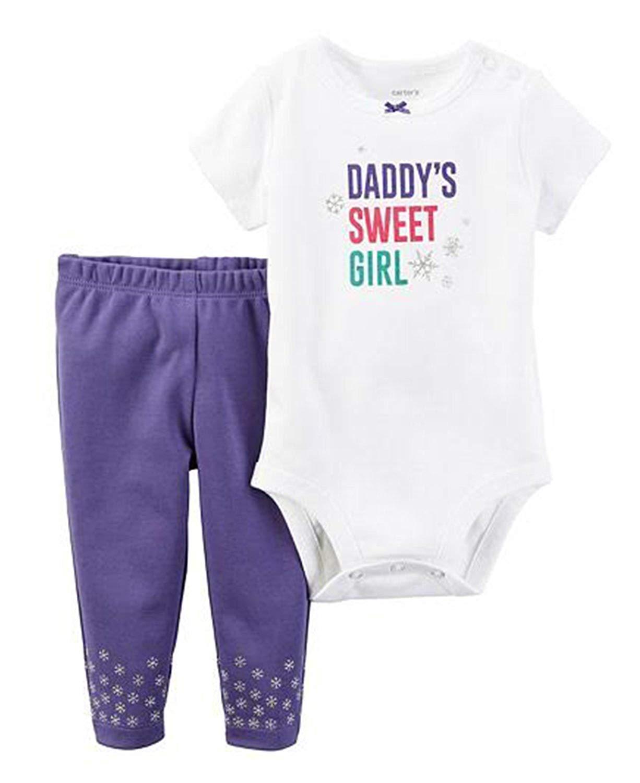 0d4598160 Baby Girls: Carter's Daddy's Sweet Girl 2-pc. Bodysuit Set - Baby ...